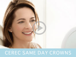 CEREC Same Day Crowns!
